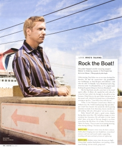 Tom Baker - Houston Modern Luxury Magazine (click on image to see read article)